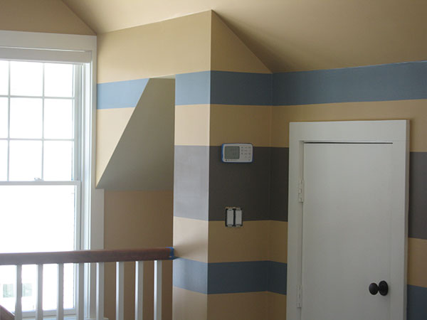 Faux Fun with Horizontal Stripes