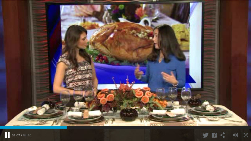 FOX-Setting Your Thanksgiving Table Tips 11-2014
