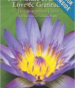 The Nature of Love and Gratitude Cards and Book